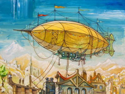 Lisabet Sarai May post123rfDirigible-14428352_s