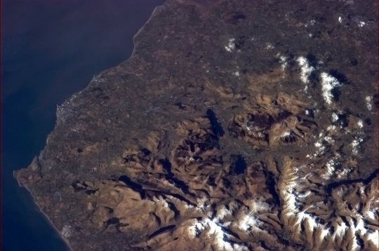 The lake District image taken from the International space Station behbysjcaaayk3t-large