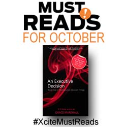 Xcite must reads for Oct Grace Marshall