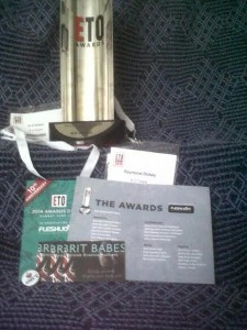 my award collage