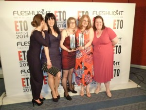 ETO Awards with Brit Babes, Tabitha Rayne, Lexie Bay, Kay Jaybee & Victoria Blisse