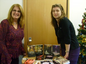 Visiting the Dudley Libraries with Kay Jaybee