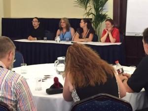 The panel on publishing