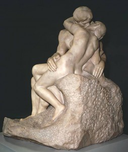 Auguste Rodin's The Kiss