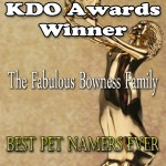 Bowness familybest-pet-namers