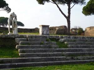 Hercules in the Republic temple complex Ostia Antica