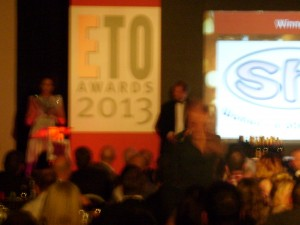 ETO 2013 Watching Sh! win for Best Innovative Shop!