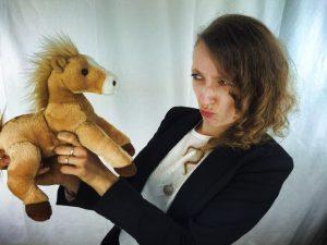 Annik & Little Pony